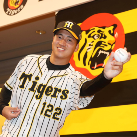阪神育成ドラフト1位入団🌟岩田選手🌟